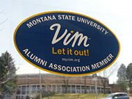 MSU Alumni Association member decal