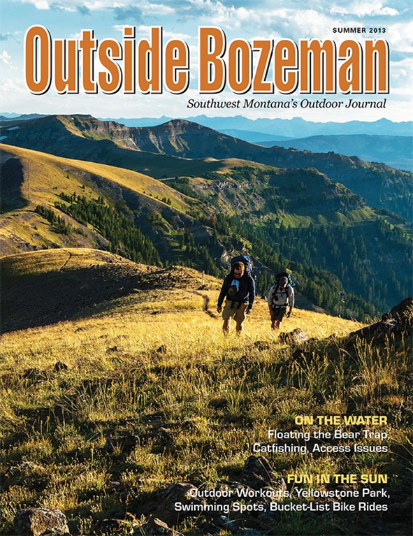 Outside Bozeman with Pocket Guide