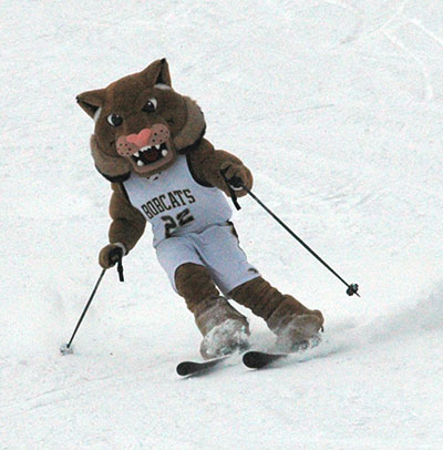 Bobcat reunion ski day